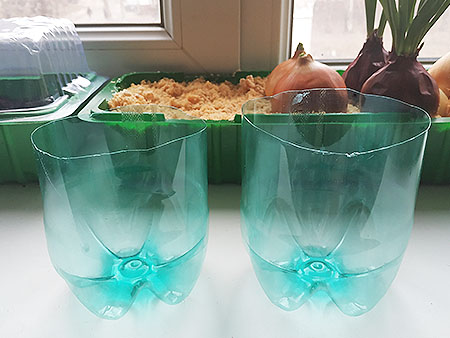 емкости из пластиковых бутылок