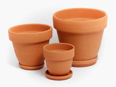 глиняные горшки