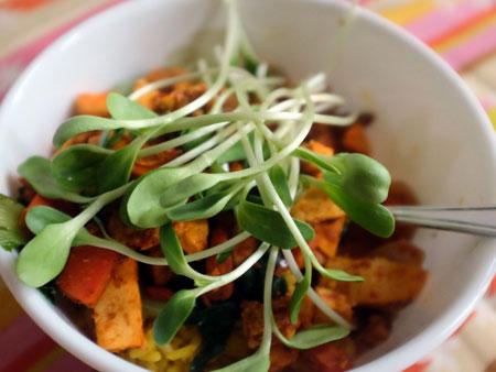 микрозелень в еде