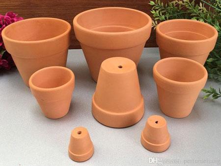 керамические горшочки для рассады