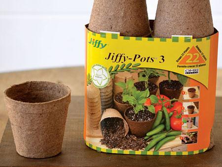 горшочки jiffy pot