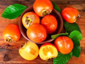 Плоды хурмы в домашних условиях