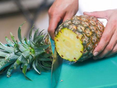 выращивание ананаса из верхушки в домашних условиях