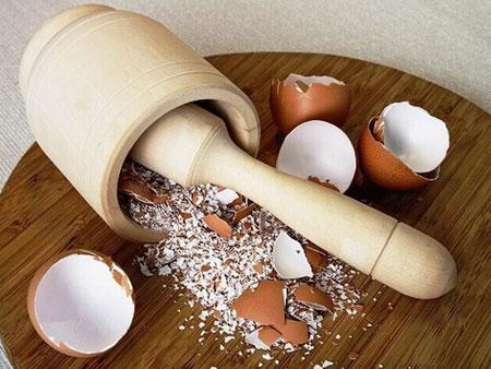 Порошок из толченой яичной скорлупы