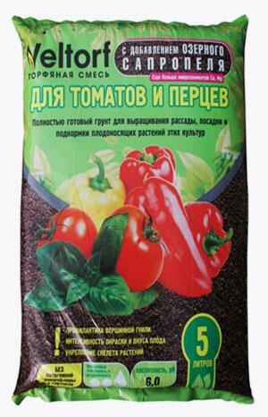 Грунт Veltorf Premium для томатов и перцев