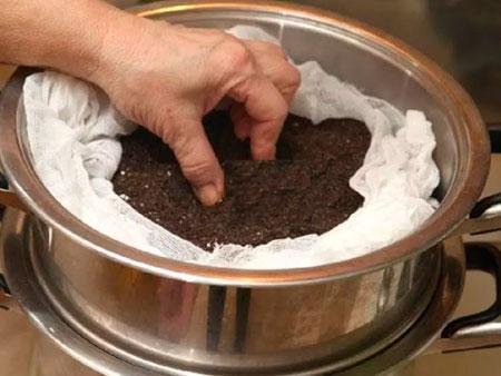 Пропаривание грунта
